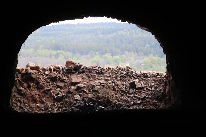Nu är tunneln på väg 40 färdigsprängd
