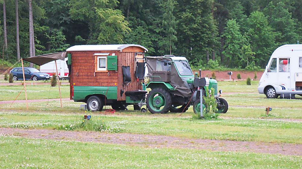 Traktorn för din semester