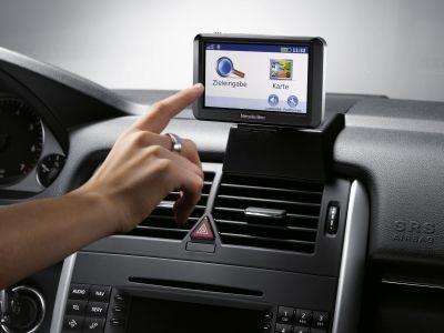 Oroande syn på GPS-hantering i bilen