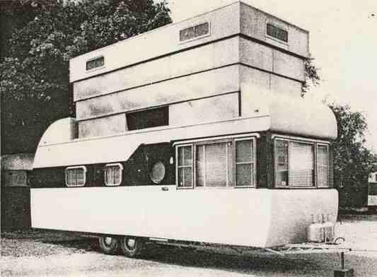 Husvagn med höjd