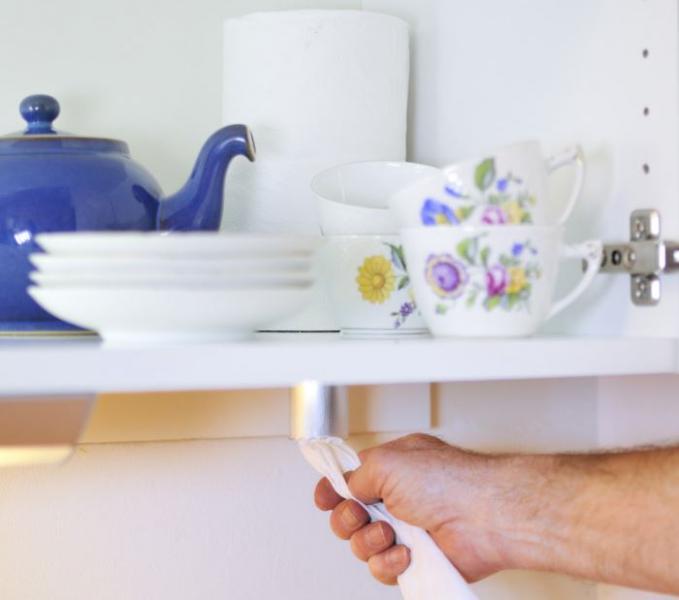Smart rivare till hushållspapper