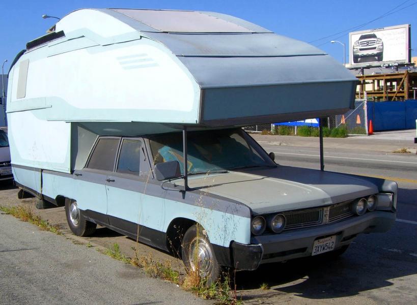 Är det en camper?