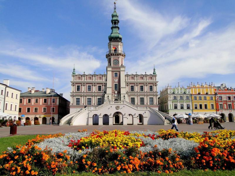 Restips: Världsarvsklassade Zamość värt ett besök