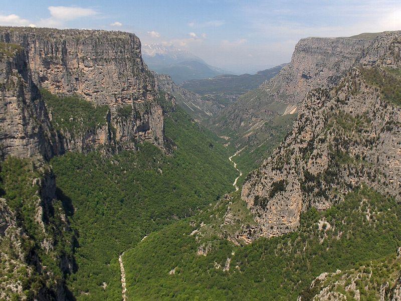 Restips: Vikos Canyon