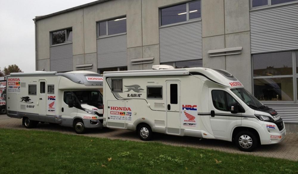 Laika och Honda tillsammans i Dakar