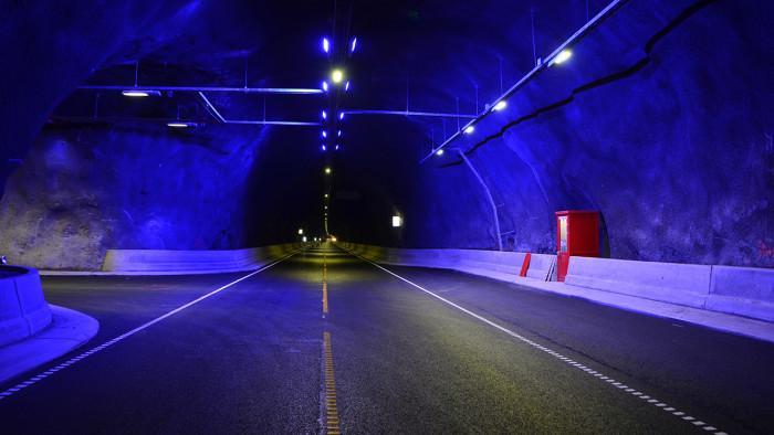 Ny tunnel i Norge