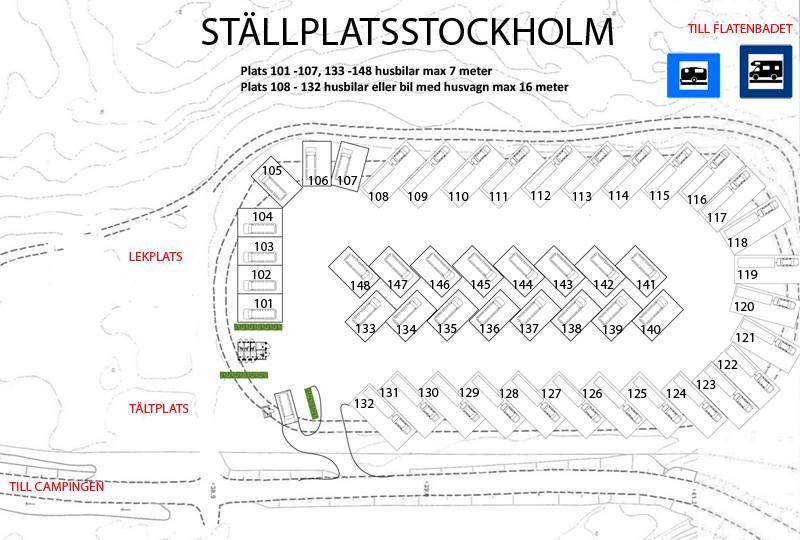 Ny ställplats i Stockholm