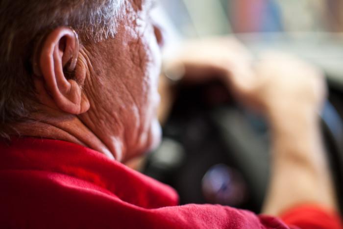 Dålig hörsel gör inte bilföraren sämre