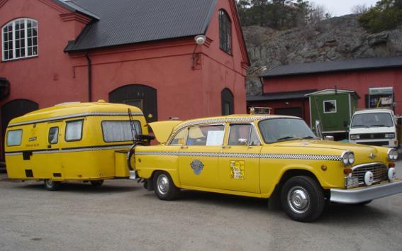 Idag tar vi taxi