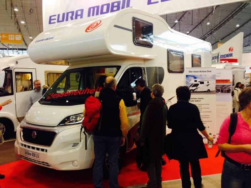 Eura Mobil visar Activa One 630 LS
