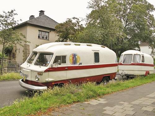 Husbil med passande husvagn