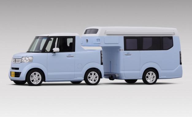Honda visar N-Truck/N-Camp i Japan