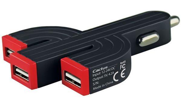 USB-laddare för färd