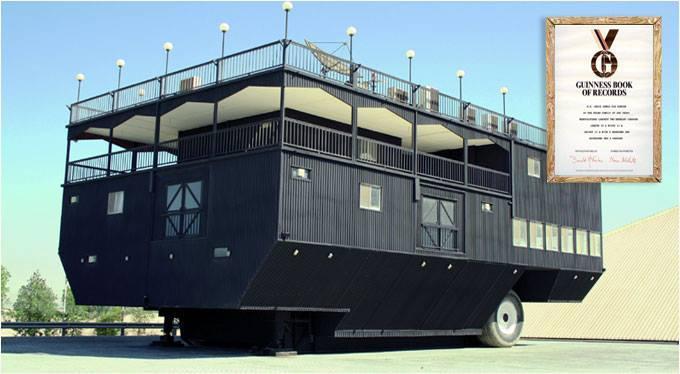 Världens största husvagn