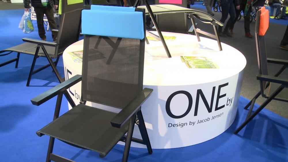 Designad stol till campingen