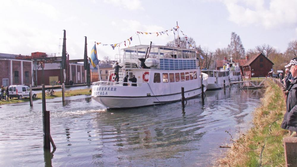 200 års jubileum för Göta Kanal i Motala
