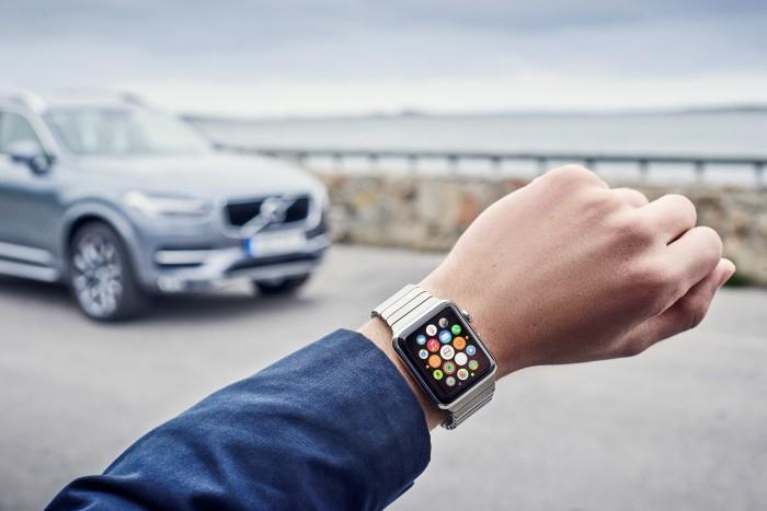 Håll kontakt med din bil från Apple Watch