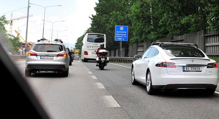 Förbud mot dieselbilar i Oslo