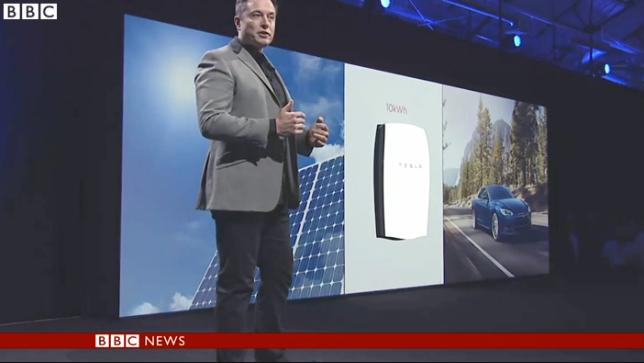 Tesla presenterar nytt effektivt batteri