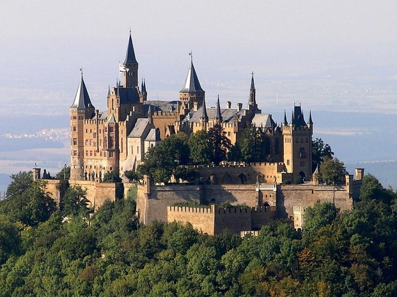 Restips: Slottet Hohenzollern