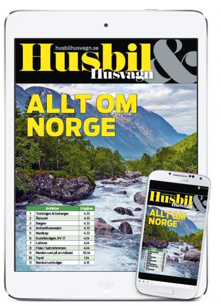 Husbil & Husvagn: ALLT OM NORGE