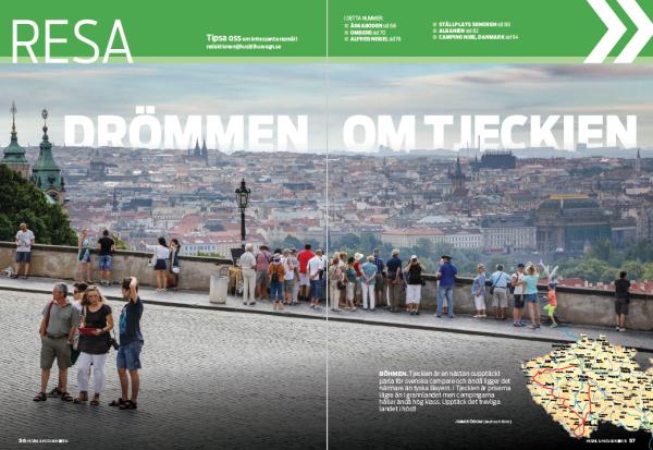 Resa: Tjeckien, Blekinge, Omberg, Värmland/Nobel, Albanien, Danmark