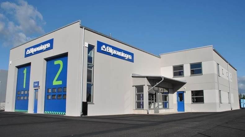 Bilprovningen öppnar i Rosersberg