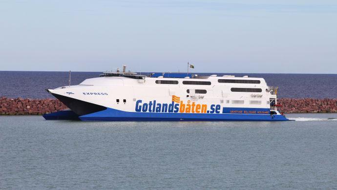 Gotlandsbåten upphör med färjetrafiken