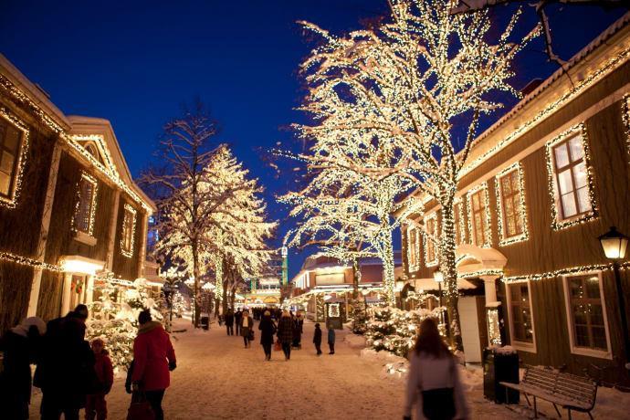 Lisebergs jul öppnar på fredag