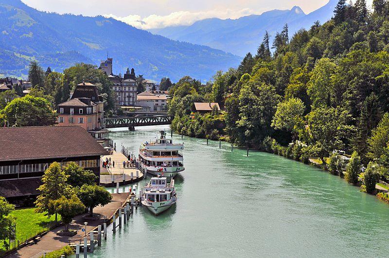 Restips: Interlaken, en sällsynt naturskön plats