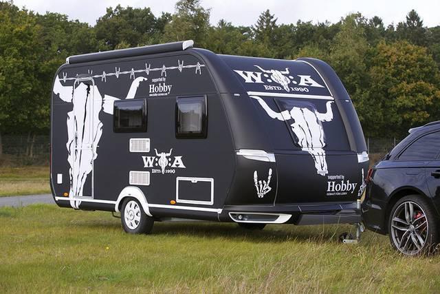 Speciell Hobby-husvagn på eBay