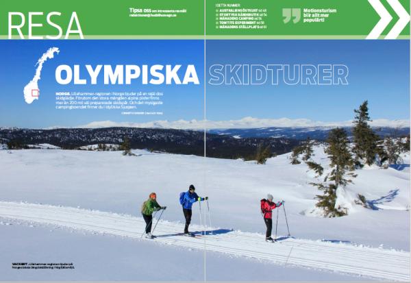 Resa: Norge, Australien, Sverige