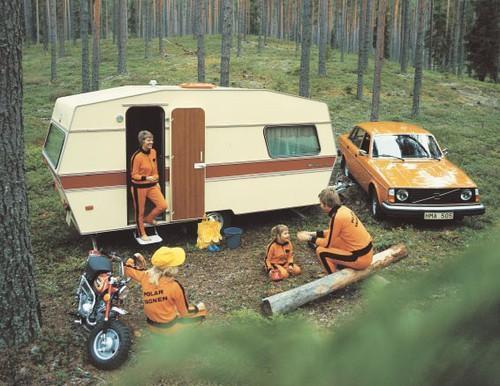 För 40 år sedan kunde campingdrömmen se ut så här. Blir du också nostalgisk?