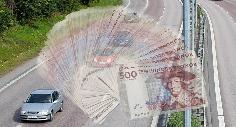 Personbilar drar in mer pengar än vad de kostar samhället.