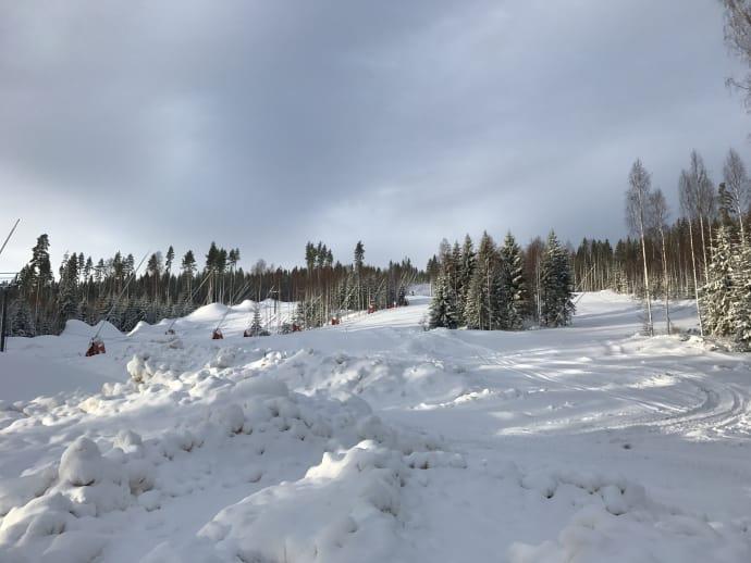Premiär för nya skidområdet i Kungsberget på lördag