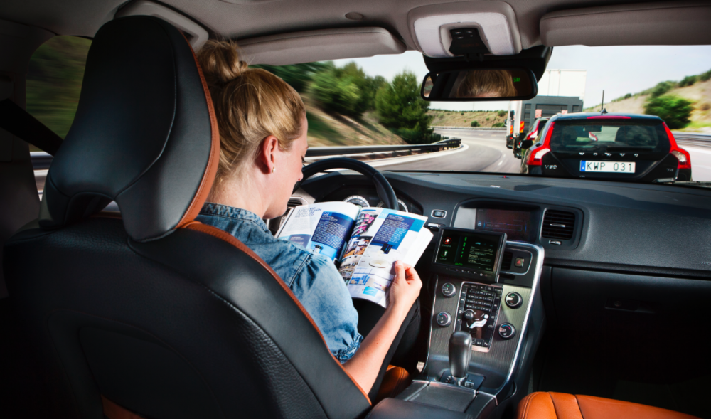 Åtta av tio redo att använda självkörande bilar