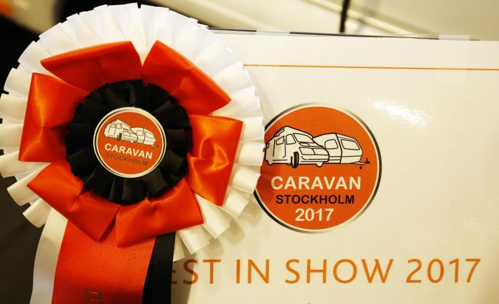 Vinnarna i Best in show på Caravan Stockholm