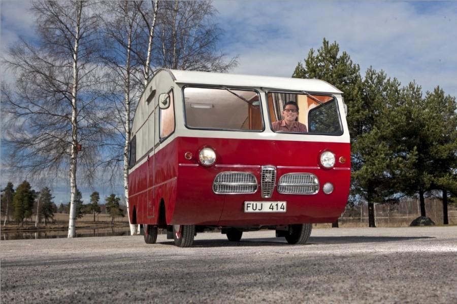 Den här unika husbilen från 60-talet kommer sannolikt att slippa besiktigas i fortsättningen