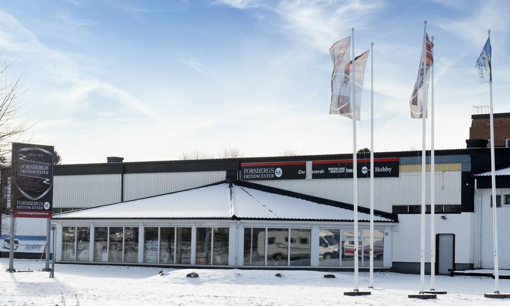 Forsbergs Fritidscenter i Borlänge invigs i helgen