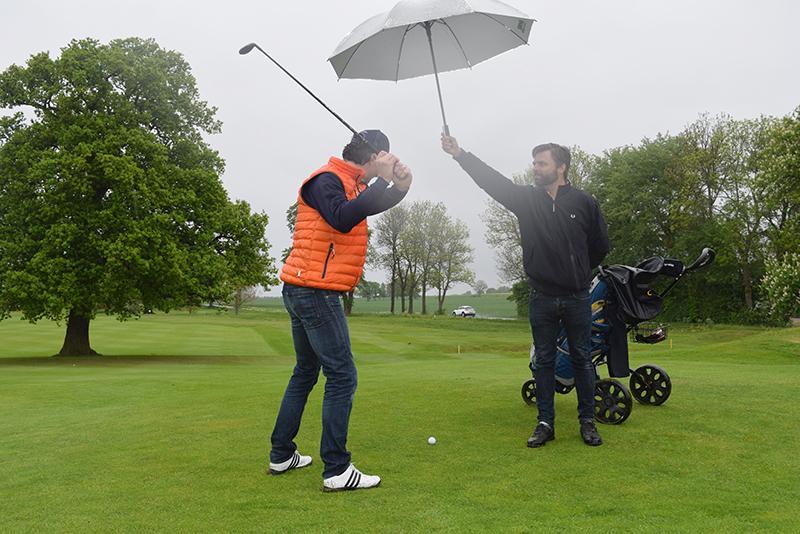 Golfa med Hymer