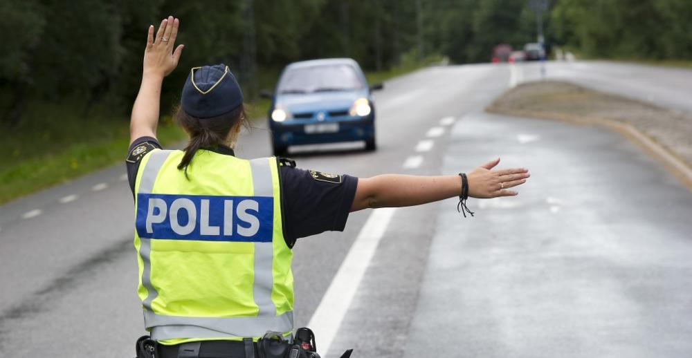 Polisen kollar trafiken extra mycket den här veckan