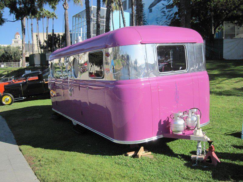 Rosa husvagnar är populära
