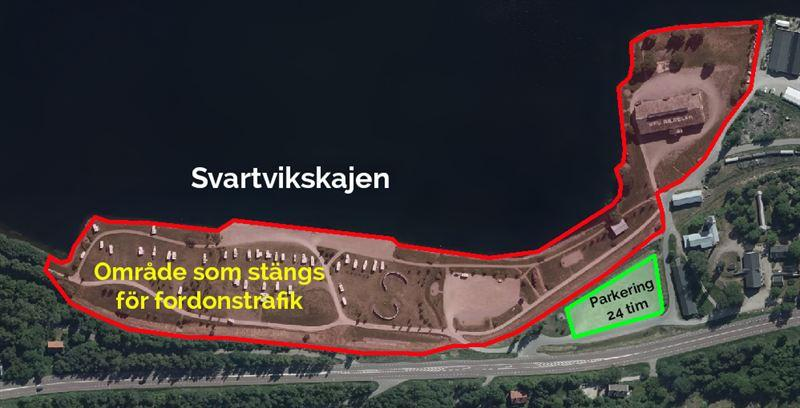 Sundsvall stänger Svartvikskajen för husbilar