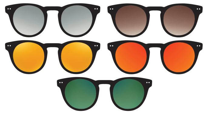 Välj rätt solglasögon, Synoptik tipsar