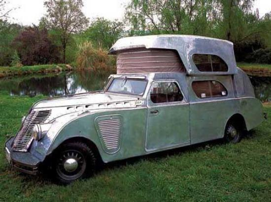 Det här är också en husbil