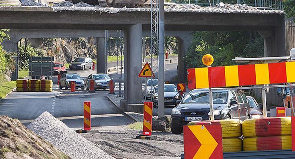 Håll koll på långhelgens trafikarbeten