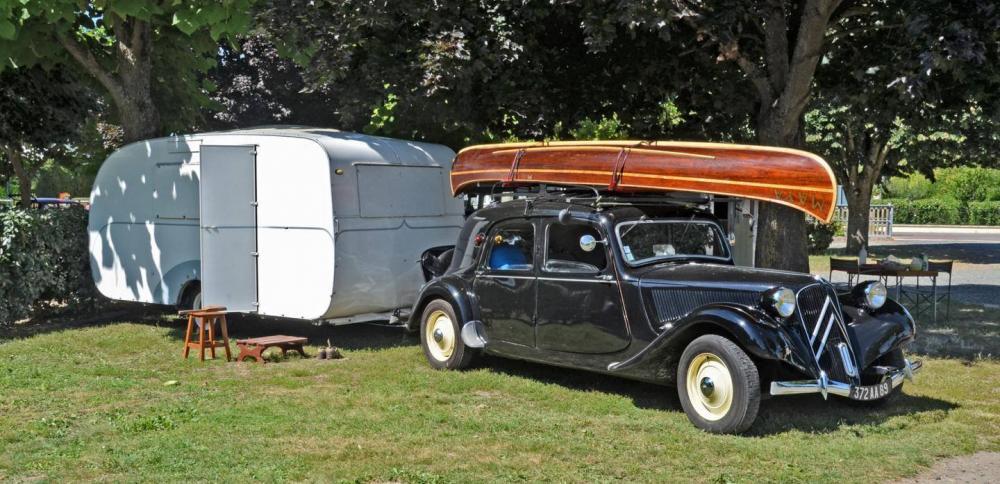 Husvagn, båt och långhelg