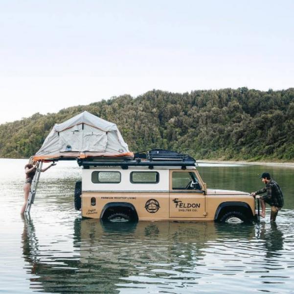 Det finns inget dåligt väder för camping