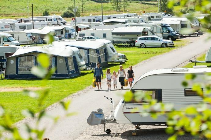 Gekås campingplatser blir bokningsbara