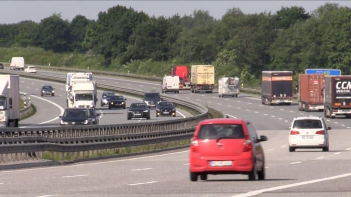Svenska husbilar får däckproblem på Autobahn